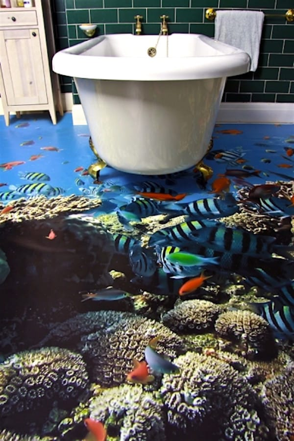 bathroom-fish