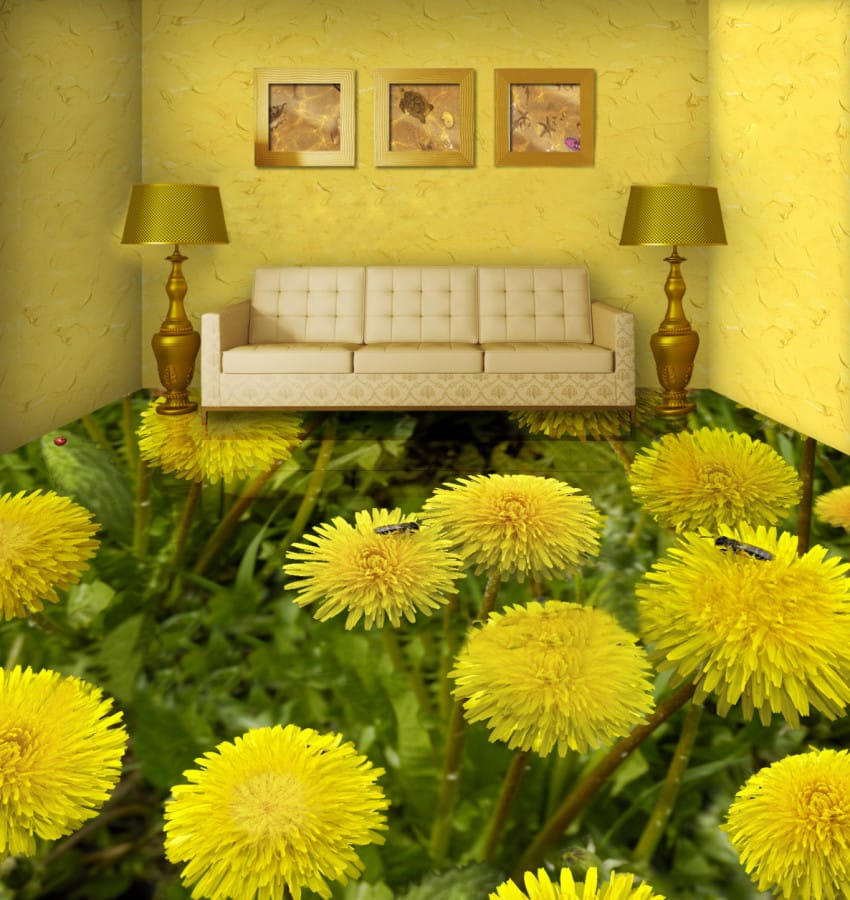 living-room-flowers