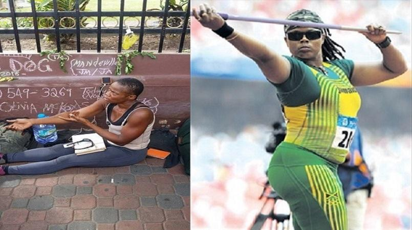 'SO SAD': Jamaican Olympian found begging on the streets of Mandeville