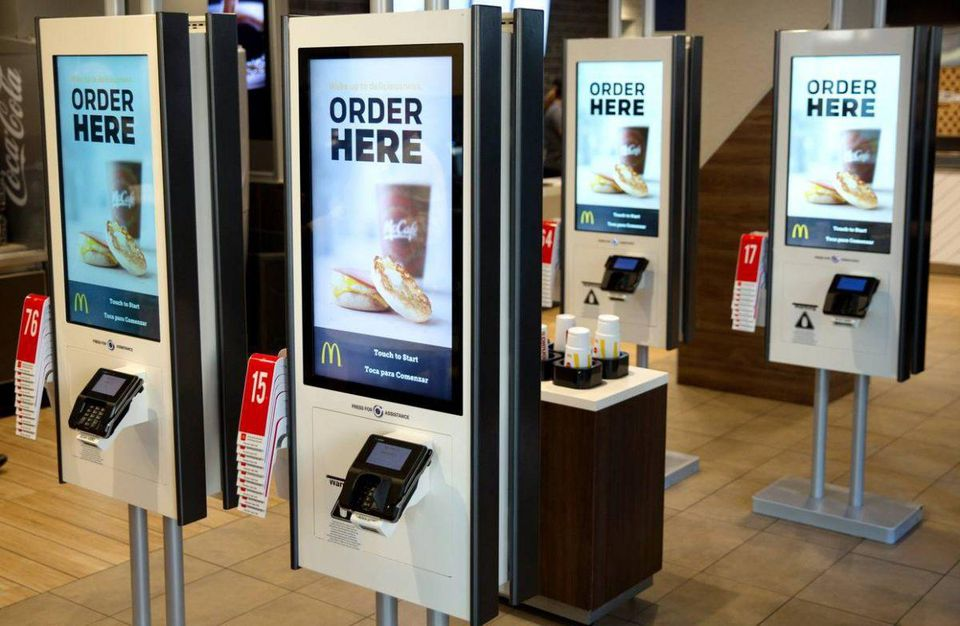 McDonald's Says Goodbye Cashiers, Hello Kiosks