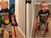 Boy With Spina Bifida Walks On Crutches And Shares Excitement With His Best Mate Dog