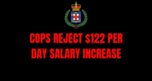 Cops reject $122 per day salary increase