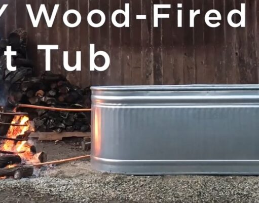 DIY: How To Build a Wood-Fired Hot Tub